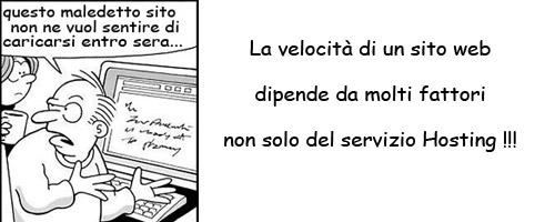 velocità hosting