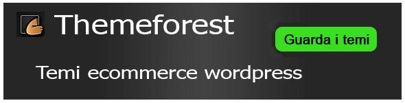 Temi ecommerce wordpress