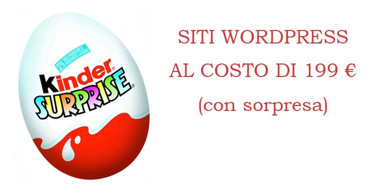 costo sito wordpress