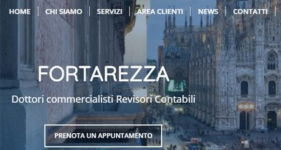 Sito wordpress studio commercialista a Milano