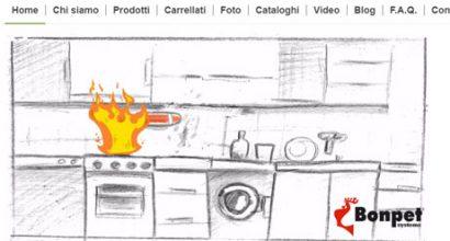 Sito wordpress Bonpet S.r.l.s liquido antincendio