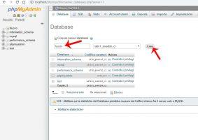 database xampp