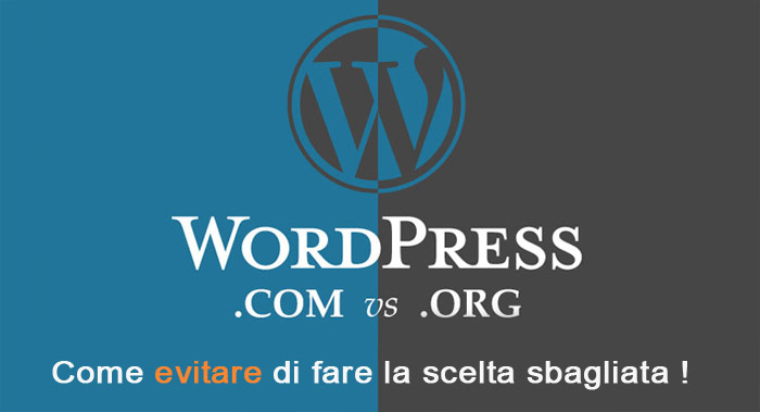 Differenze wordpress.org com