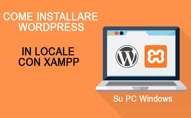 installare WordPress locale