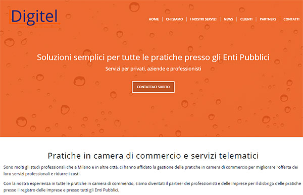 Sito wordpress digitel