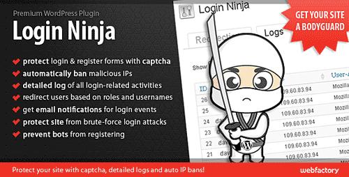 plugin login ninja